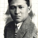 (KZ) Жанайдар Сәдуақасов. Орынбор, 1924 жыл (Қарағанды облыстық тарихи-өлкетану мұражайы қорынан)