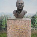 Бюст Мустафы Шокая (из фондов Кызылординского областного историко-краеведческого музея)