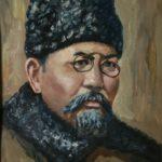 (KZ) А.Байтұрсыновтың портреті (Қостанай облыстық тарихи-өлкетану мұражайы қорынан)