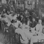 Депутаты Алаш за столом. 1906 год. г.Териоки. (фото), (Держатель документа: Из личного архива Серикбол Хасана)