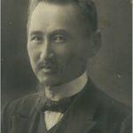 Б.Сырттанов (фото), (Құжат ұстаушы: А.Ахмедованың жеке мұрағатынан алынған)